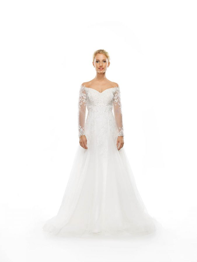 Jasmin Bridal Fit & Flare Gown Gallery