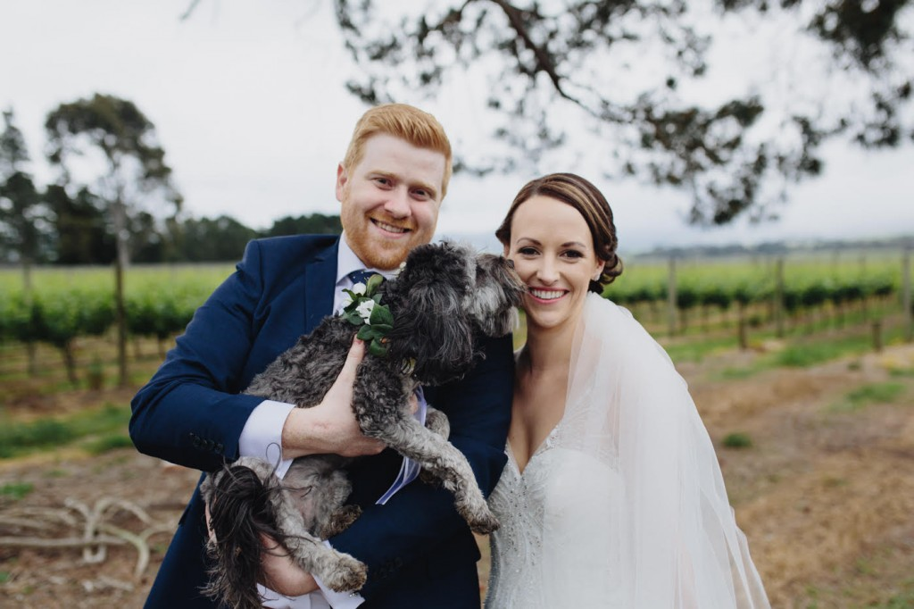 Melbourne bride wedding dress straps bead