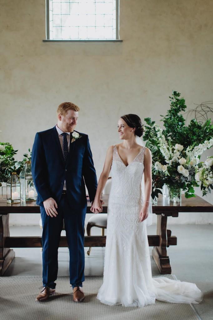 Wedding dress detailed beading Melbourne