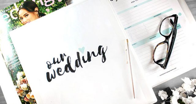 Cool, Calm and Collected: Staying Stress Free Planning your Wedding
