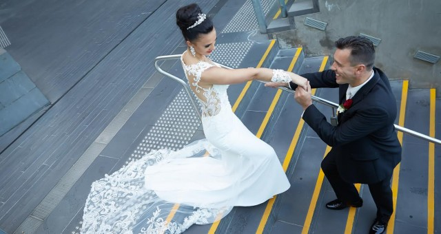 Bridal Gown Melbourne - Real Wedding
