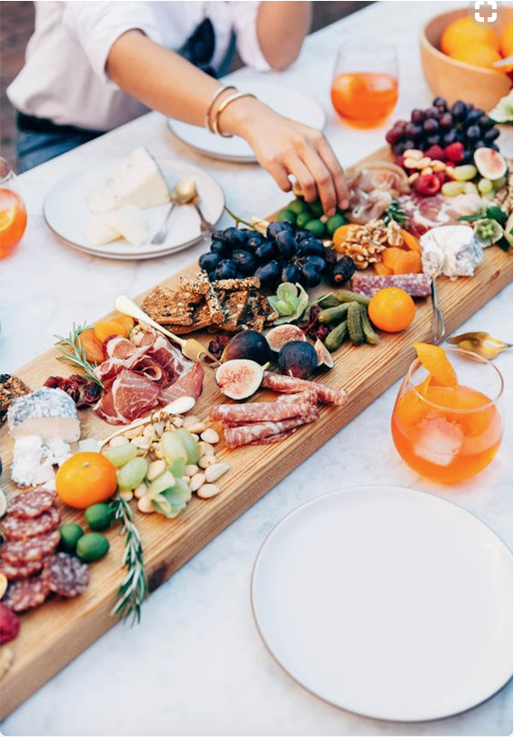antipasto platters and vibrant wildflower arrangements to adorn the garden click here to visit our pinterest board for boho theme ideas