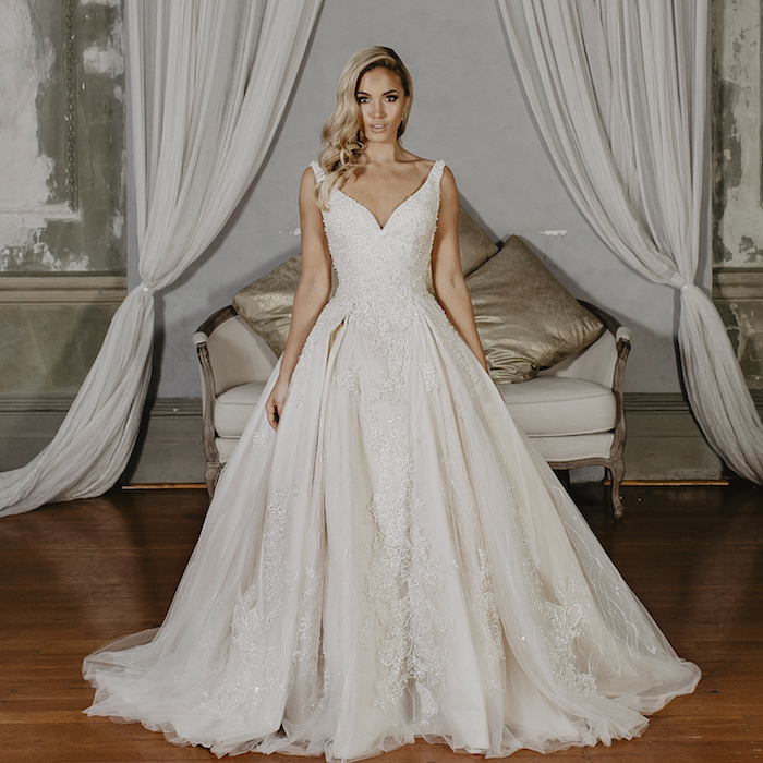 Ball Gown, Cinderella Wedding Dresses - Belle et Blanc