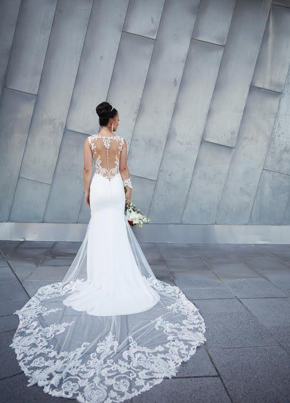 The Composition of A Wedding Dress
