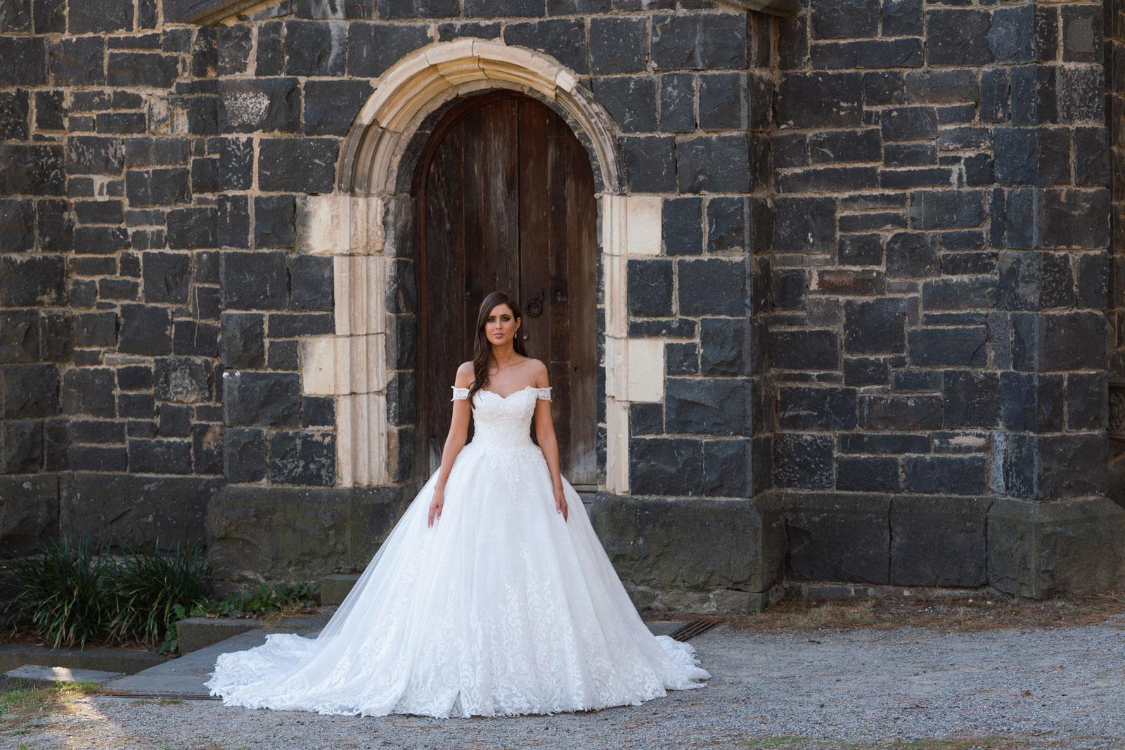 Ball Gown, Cinderella Wedding Dresses - Belle et Blanc
